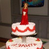 Юбилейный торт для подруги :: татьяна