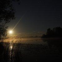 Ночь на озере :: Анатолий Piligrim54 Крюков