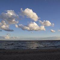 Облака над заливом :: Aнна Зарубина