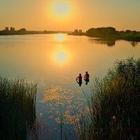 уходящее солнце... :: юрий иванов