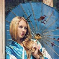 Девушка с зонтом :: m0skit Макс Хохряков