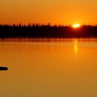 Закат на Канозеро :: Валерий Толмачев