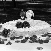 """Свадебный торт """"Влюбленные киски"""" :: Aнатолий Бурденюк"""