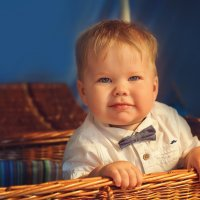 Малыш в корзинке :: Татьяна Семёнова
