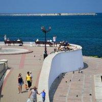Набережная Севастополя.Крым :: Гриша  6х9 или 9х12