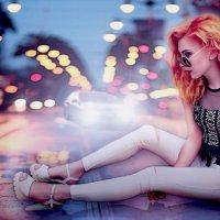 Девушка на асфальте :: Alina_ Mash