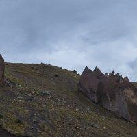 """""""Каменные замки"""". Джилы-Су, северный склон Эльбруса :: Макс Сологуб"""