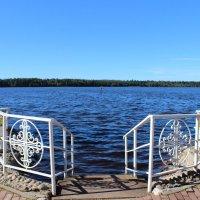 Святое озеро, камень и крест св. Антония Дымского. :: Ангелина Божинова