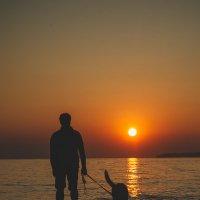 На закате у моря :: Ольга Осипова