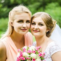 Анна и подружка Настя :: Татьяна Костенко (Tatka271)