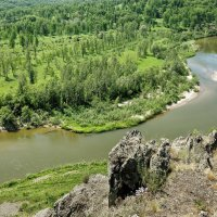 Река Бердь :: Дмитрий Конев
