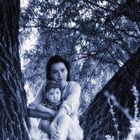 С сыном :: Лариса Тарасова