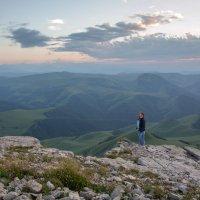 Вечер на Бермамыте. Высота более 2500 м. :: Vladimir 070549