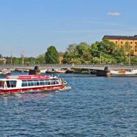 Стокгольм.  Экскурсионный катер. :: Олег Попков
