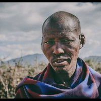 Вождь!..В гостях у масаев...Танзания! :: Александр Вивчарик