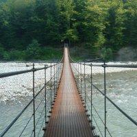 Адыгея. Подвесной мост-через реку Белая :: Надежда