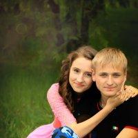 Счастье в объятиях любимой :: Анжелика Засядько
