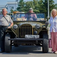 Мои родители и автомобиль :: Сергей Черепанов