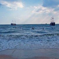 Море кружево плетет... :: Наталья