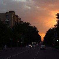Вечер в городе :: Андрей Лукьянов