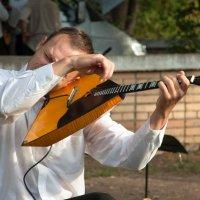 У талантливого музыканта и балалайка звучит скрипкой :: Albina