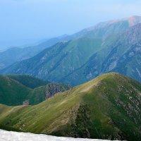 вечерние горы :: Горный турист Иван Иванов