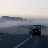 Путь в туман. :: Маргарита Кириллова