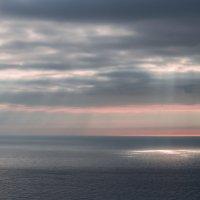 Закат над Татарским проливом :: Наталья Литвинчук