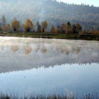 Красота утра на озере :: Наталия Гагарина