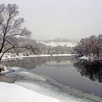 Зима, февраль, Десна :: Дубовцев Евгений