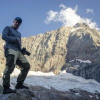 У Алибекского ледника... :: Евгений Khripp