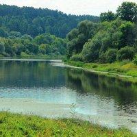 Слогает лето полномочия реки... :: Лесо-Вед (Баранов)