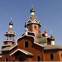 Строится новый храм  в честь Богоявления Господня . :: Мила Бовкун