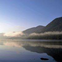 Рассвет на Телецком озере! :: Маргарита Кириллова