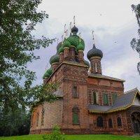 Церковь Иоанна Предтечи в Ярославле 1671-1687 годы :: Сергей Тагиров