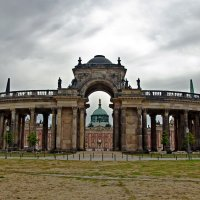 New Palace in Sans-Souci Park :: Roman Ilnytskyi