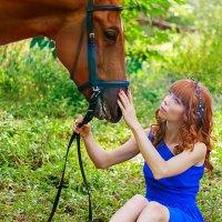 С лошадкой :: Екатерина Кузнецова