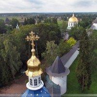 Печоры, монастырь / Аэросъемка :: Павел Москалёв