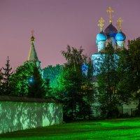 Церковь Казанской иконы Божией Матери в Коломенском ночью :: Игорь Герман