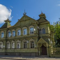 Кострома,колоритный дом :: Сергей Цветков