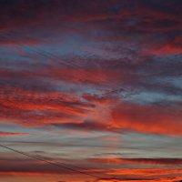 закат с балкона :: Валерия Воронова