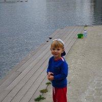 Улыбчивый и общительный мальчик по имени Марк :: Андрей Лукьянов