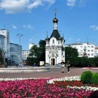 Часовня святой Екатерины и фонтан Каменный цветок :: Евгений Дубинский