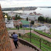 Место слияния Оки и Волги :: Александр Алексеев