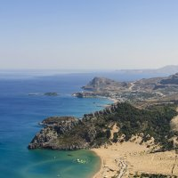 Вид с горы Цамбика, Родос, Греция :: Алеся Пушнякова