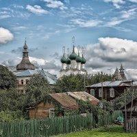 Патриархальный городок Ростов Великий. Вид на кремль :: Александр Шмалёв