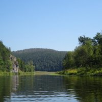 Река Юрюзань :: Татьяна Ушакова