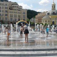 Радость от струек воды :: Наталия Каминская