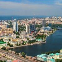 Екатеринбург с птичьего полета :: vladimir
