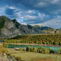 Река Катунь :: Валерий Толмачев
